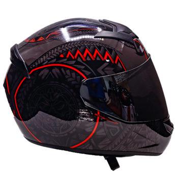 LS2 FF352 Rookie Takora Gloss Black Red Full Face Helmet 4