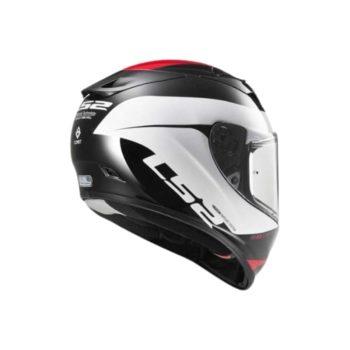 LS2 FF323 Arrow R Commet Gloss Black Red Helmet