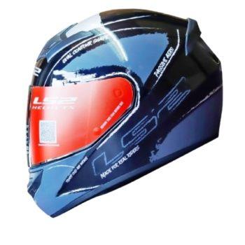 LS2 FF352 Brush Matt Black Grey Helmet