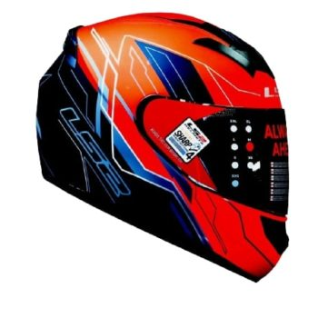 LS2 FF352 Chaser Matt Black Red Helmet