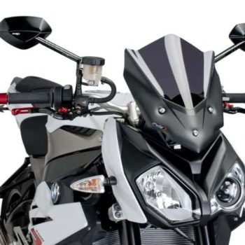 Puig New Generation Sport Carbon Windscreen for BMW S1000R 2017 19