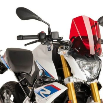 Puig New Generation Sport Red Windscreen for BMW G310R 2018 21