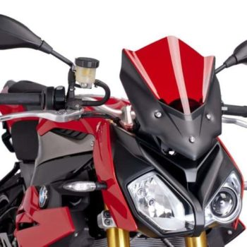 Puig New Generation Sport Red Windscreen for BMW S1000R 2017 19