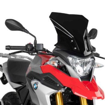 Puig Touring Black Windcreen for BMW G310 GS 2018 21