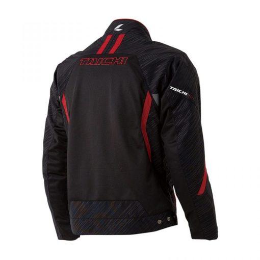 RS Taichi Torque Mesh Black Red Riding Jacket 2