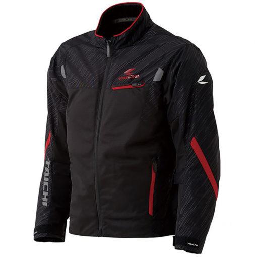 RS Taichi Torque Mesh Black Red Riding Jacket