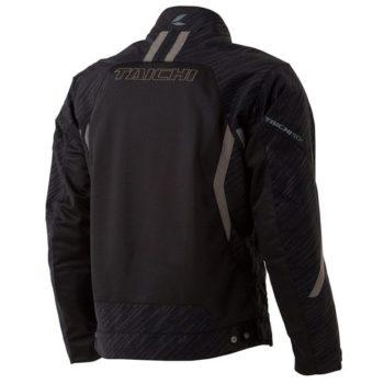 RS Taichi Torque Mesh Black White Riding Jacket 2