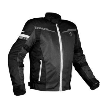 Rynox Air GT 3 Black White Riding Jacket 1