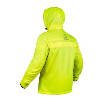 Rynox H2GO Hi Viz Green Rain Jacket 2