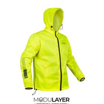Rynox H2GO Hi Viz Green Rain Jacket