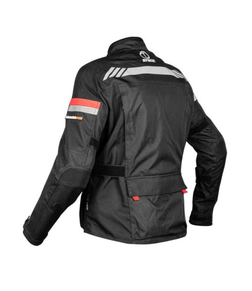 Rynox Stealth Evo V3 L2 Black Riding Jacket 2