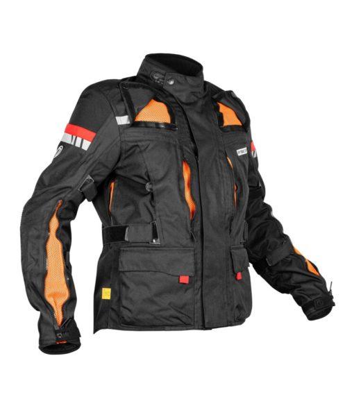 Rynox Stealth Evo V3 L2 Black Riding Jacket 3