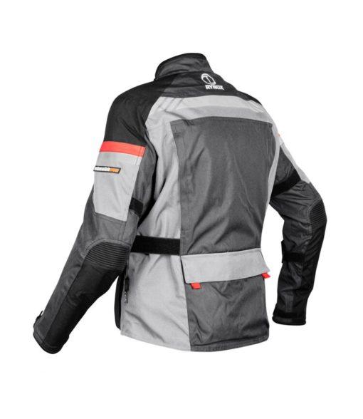 Rynox Stealth Evo V3 L2 Grey Riding Jacket 2