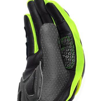 Rynox Storm Evo 2 Black Fluorescent Green Riding Gloves 2
