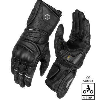 Rynox Storm Evo 2 Black Riding Gloves
