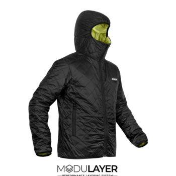 Rynox Surge Black Winter Jacket
