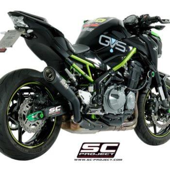 SC Project S1 K25A T41MB Titanium Slip on Exhaust for Kawasaki Z900 2017 19 min