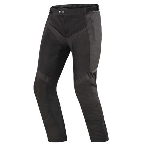 Shima Jet Mesh Black Riding Pants