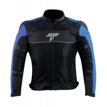 Tarmac One III Level 2 Black Blue Riding Jacket