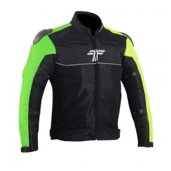 Tarmac One III Level 2 Black Green Riding Jacket 3
