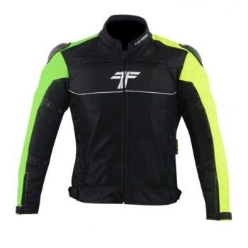 Tarmac One III Level 2 Black Green Riding Jacket