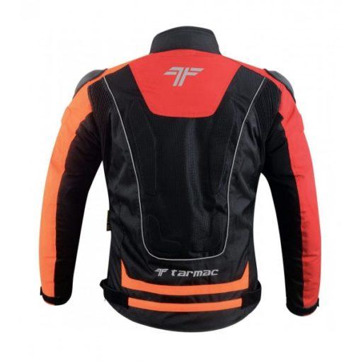 Tarmac One III Level 2 Black Red Orange Riding Jacket 2
