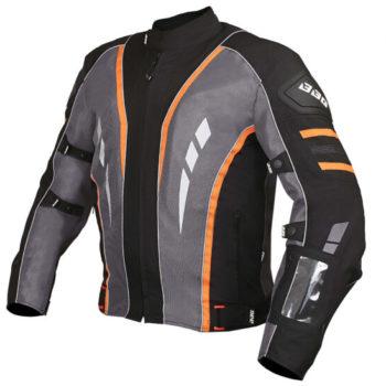 BBG Navigator Black Orange Riding Jacket 2