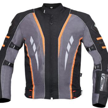 BBG Navigator Black Orange Riding Jacket