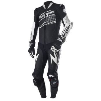 Furygan Full Ride Black White Racing Suit 3