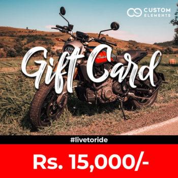 Gift Card For Website 15K