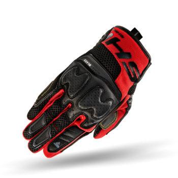 Shima Blaze Black Red Riding Gloves 3