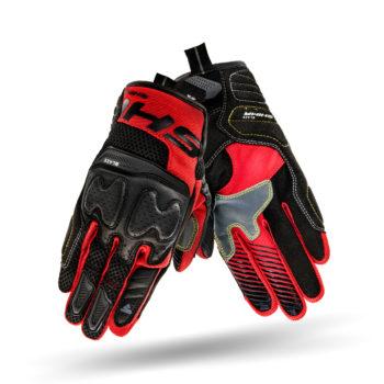 Shima Blaze Black Red Riding Gloves