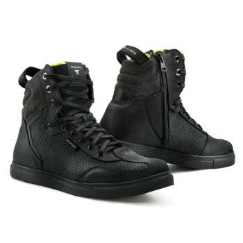 Shima Rebel WP Waterproof Black Riding Shoes
