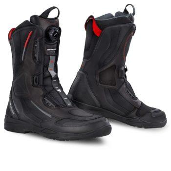 Shima Strato Black Riding Boots
