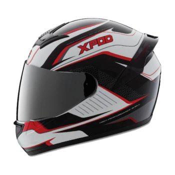TVS Racing XPOD Dual Tone Full Face Helmet 4
