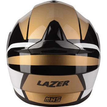 LAZER MH5 Gold white Modular Helmet 3