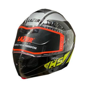 LAZER MH5 Yellow Modular Helmet