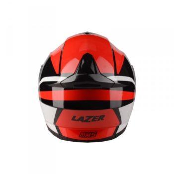 Lazer MH5 Light Gloss Black Red White Flip Up Helmet 2