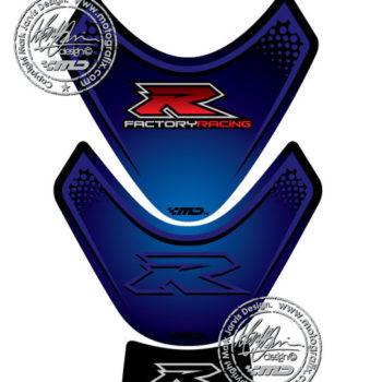 Motografix Blue Tank Pad for Suzuki GSXR 1000 2009 16