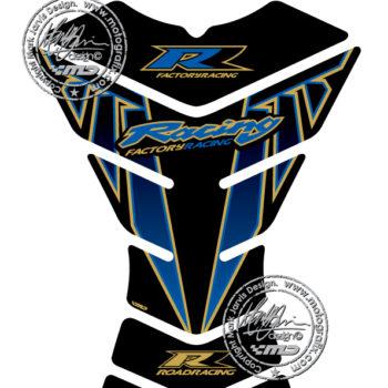 Motografix Factory Racing Universal X3 Black Tank Pad for Honda CBR