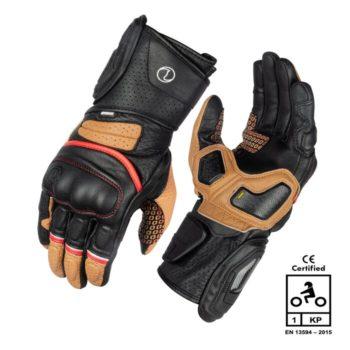 Rynox Storm Evo 2 Black Brown Riding Gloves