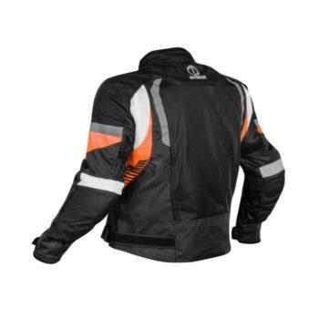 Rynox Tornado Pro V4 Black Orange Riding Jacket 1