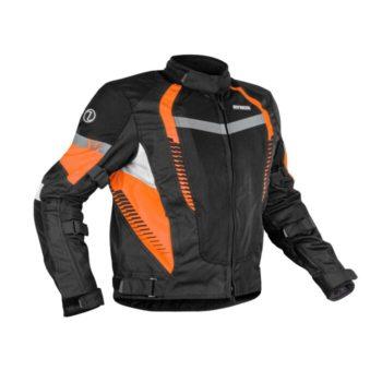 Rynox Tornado Pro V4 Black Orange Riding Jacket