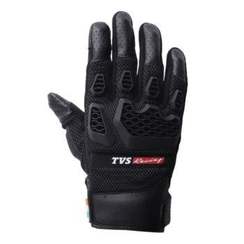 TVS Racing Adventure Black Riding Gloves 2