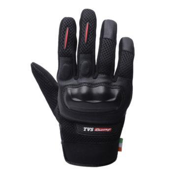 TVS Racing Street Black Riding Gloves 2