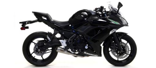Arrow Stainless Steel Full System Exhaust for Kawasaki Ninja 650