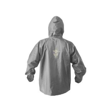 Mototech Hurricane 2.0 Grey Rain Over Jacket 2