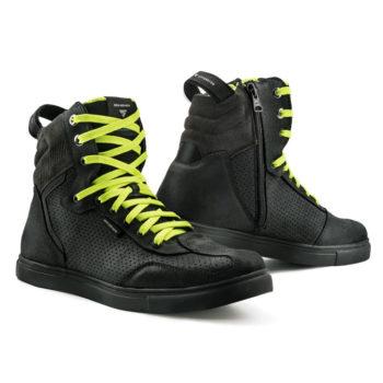 Shima Rebel WP Waterproof Black Riding Shoe 6